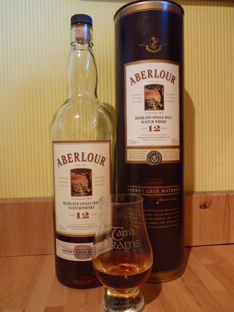 Aberlour 12 Year Old Sherry Cask Matured