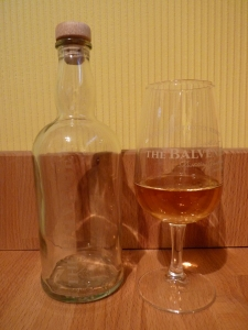 Bal glass and bottle