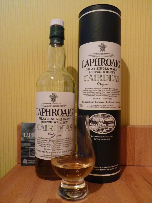 Laphroaig Cairdeas 2012 Origin