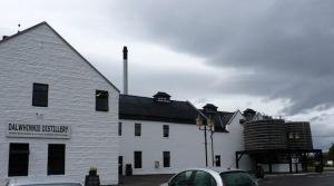 Dalwhinnie Distillery - the highest in Scotland
