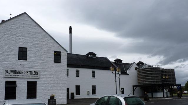 Dalwhinnie Distillery Exterior