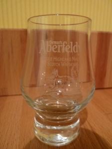 Aberfeldy tot glass