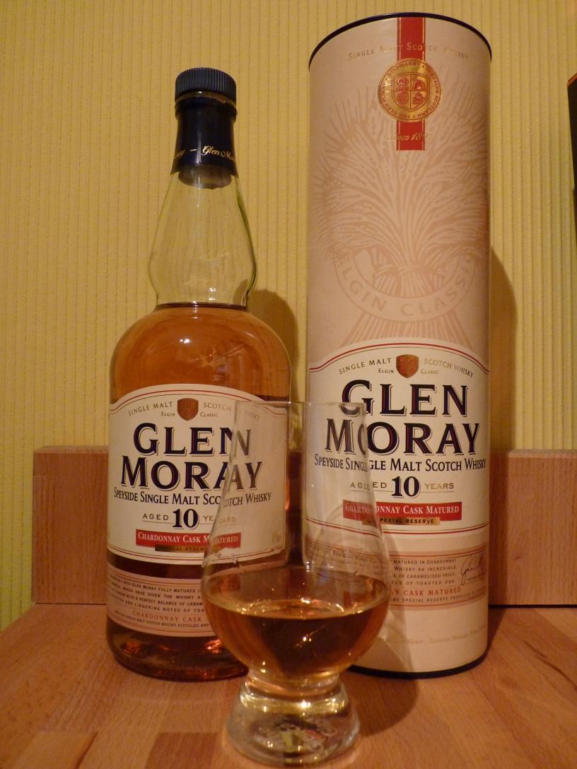 Glen Moray 10 Years Old Chardonnay Cask Matured-single-malt-scotch-whisky