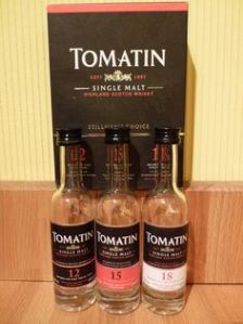 Tomatin coopers set
