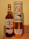 Longmorn 1996, 17 Years Old, Cask No 105095, Signatory Vintage