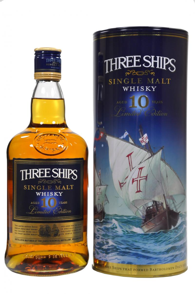 Three Ships 10 Years Old Single Malt Whisky