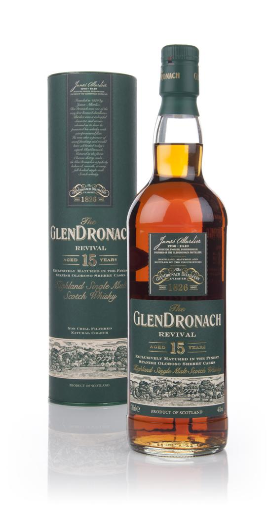 The Glendronach 15 Years Old Revival (46%, OB, 2013)