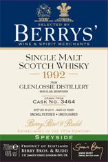 1992 Glenlossie BBR Label