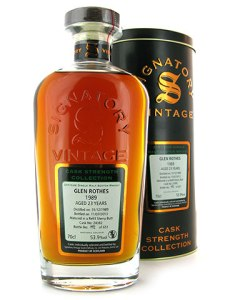 Glenrothes 1989 Signatory Cask Strength