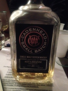 Allt-á-Bhainne 21 Years Old Cadenhead Small Batch