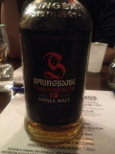 Springbank 12 Years Old CS Batch 6