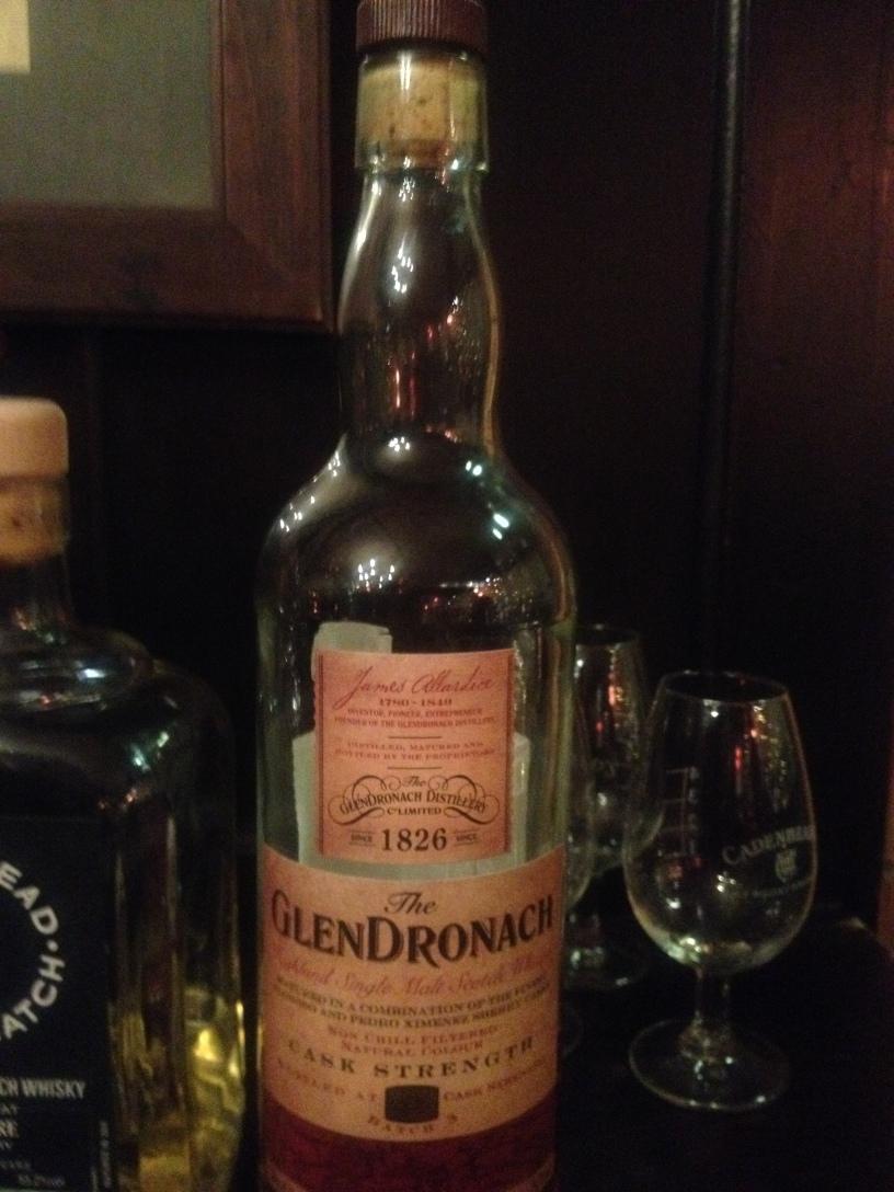 Glendronach Cask Strength Batch #3