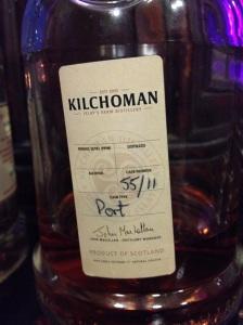 Kilchoman Port Label