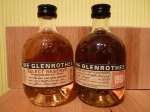 Glenrothes SR & 1998 Vintage