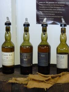 Caol Ila lineup