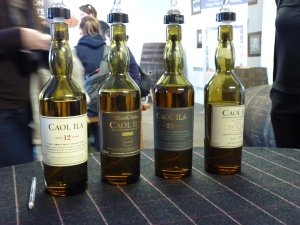 Caol Ila Lineup Table