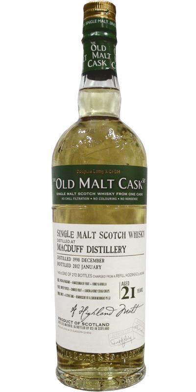 Macduff 21 Years Old 1990 Old Malt Cask