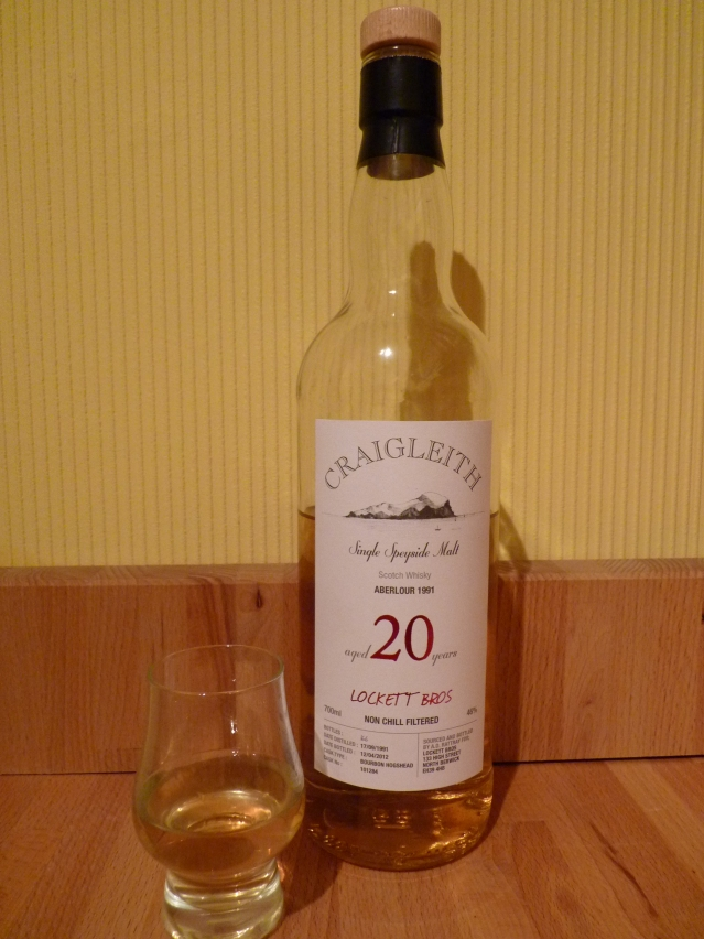 Craigleith Aberlour 20 LB