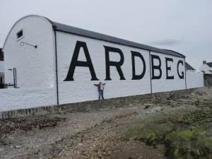 Ardbeg Distillery and Me