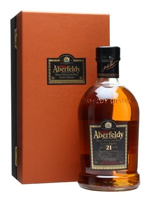 Aberfedly 21yo Bottle and Box Old