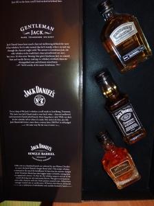 Jack Daniel's Sampler