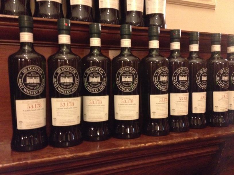 The Whiskyphiles SMWS 53.178 bottles