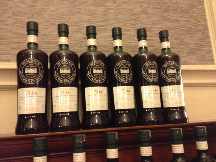 The Whiskyphiles SMWS 73.66 bottles