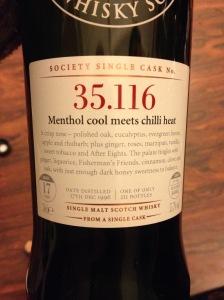 35.116 Menthol cool meets chilli heat