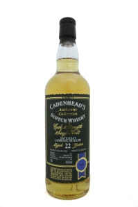 Laphroaig 22yo 1991 Cadenhead bottle