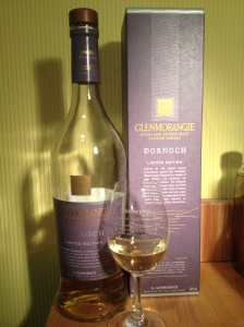 Glenmorangie Dornoch and glass