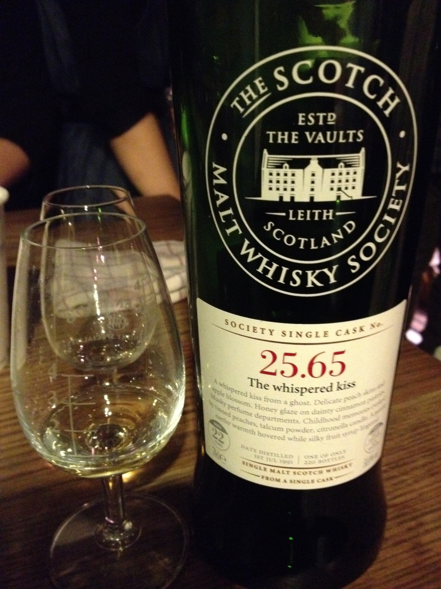 Rosebank 22 Years Old 1991 25.65 The whispered kiss (50%, SMWS, Refill Bourbon Barrel, 220 Bottles, 2014)