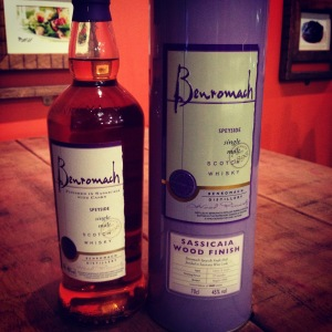 Benromach5yoSassicaia