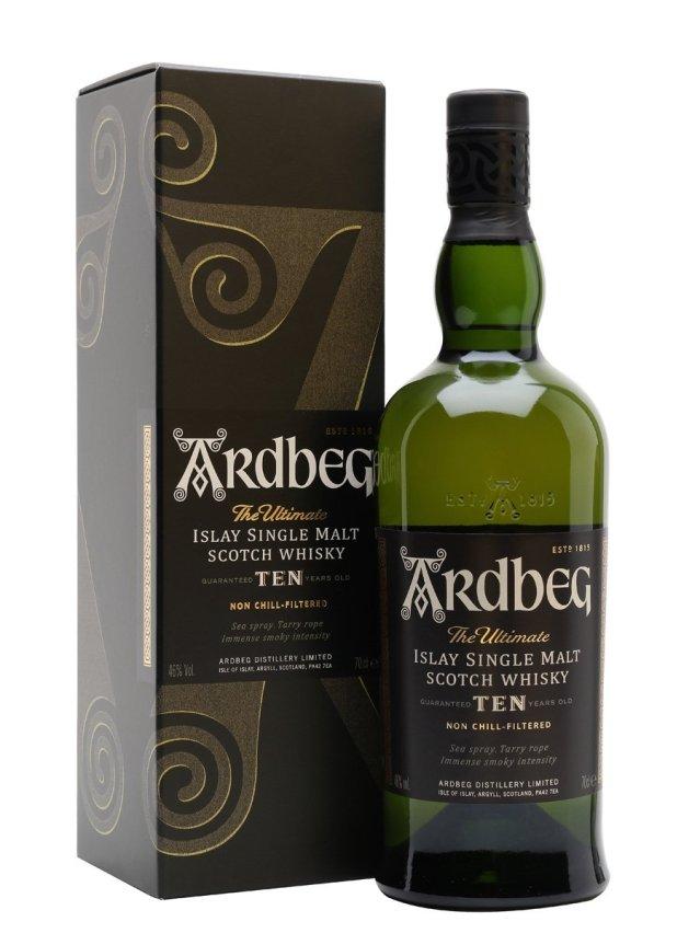 Ardbeg 10 Years Old Islay Single Malt Scotch Whisky