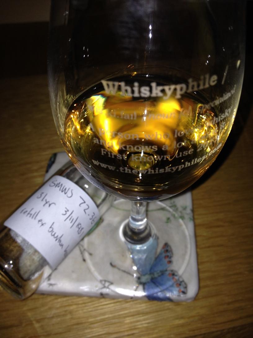 The Whiskyphiles SMWS 72.36