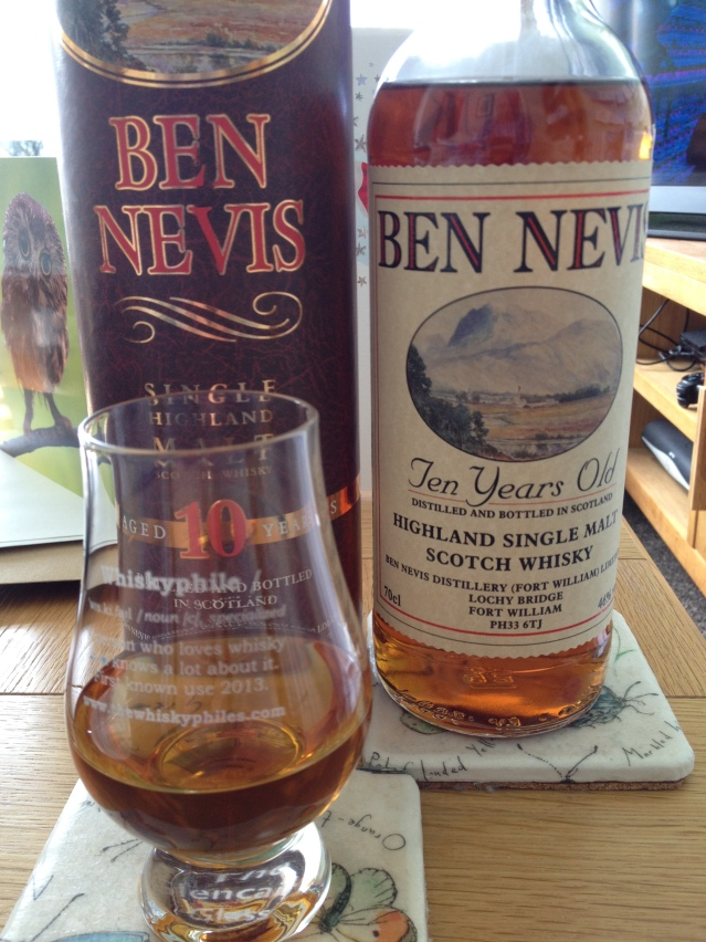 The Whiskyphiles Ben Nevis 10 Years Old