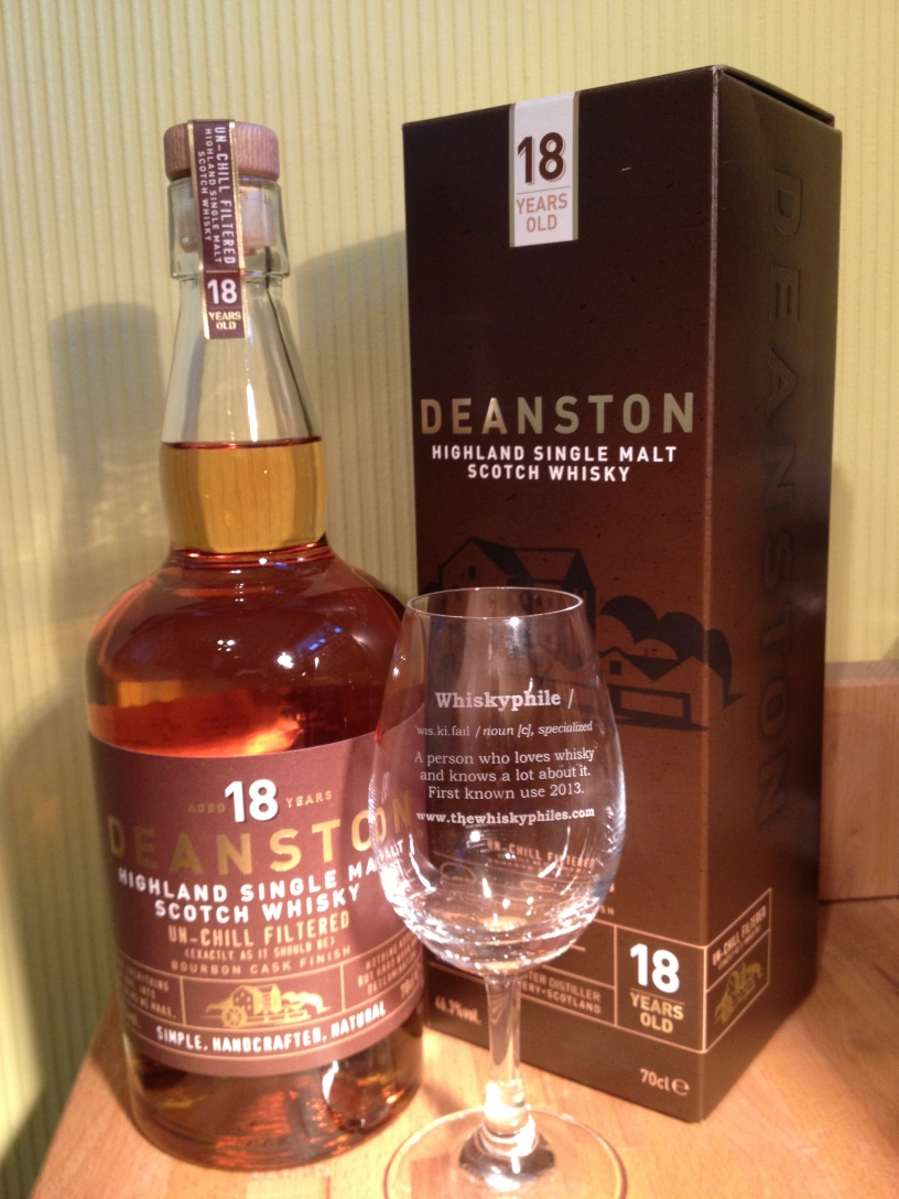 The Whiskyphiles Deanston 18 Years old