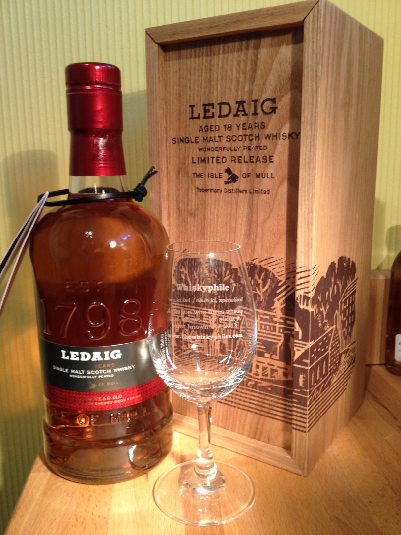 The Whiskyphiles Ledaig 18 Years Old