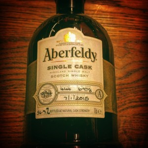 Aberfeldy Cask 6978