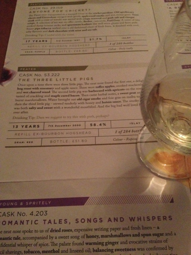 SMWS 53.222 The Three Little Pigs