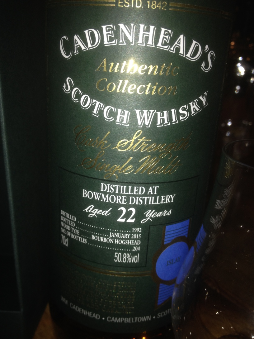 Bowmore 22 Years Old 1992