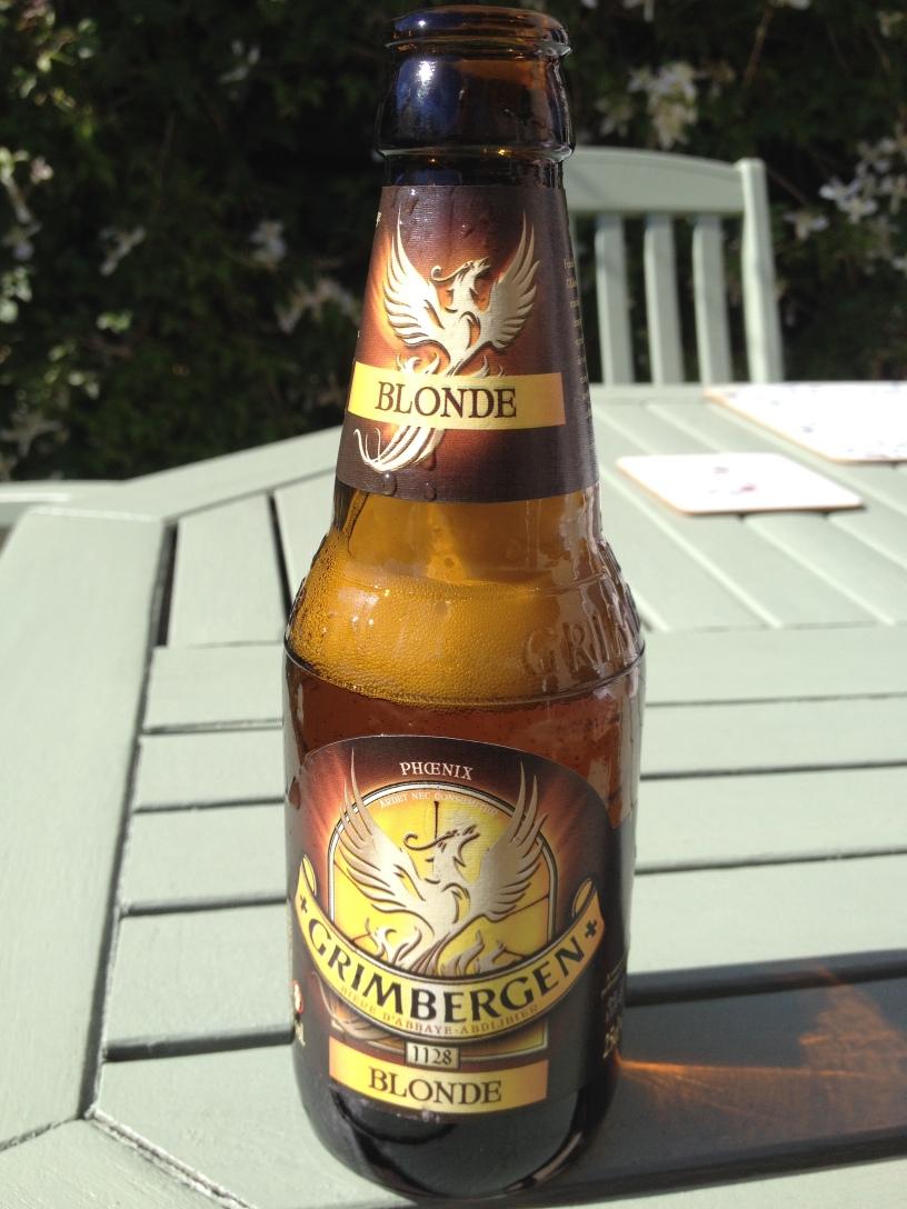 Grimbergen Blonde Bottle
