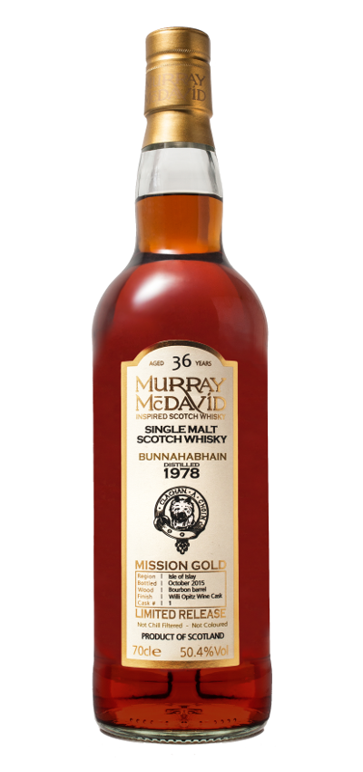 Murray McDavid - Mission Gold - Bunnahabhain 36yo 1978
