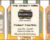 #BushmillsWhiskey Tweet Tasting