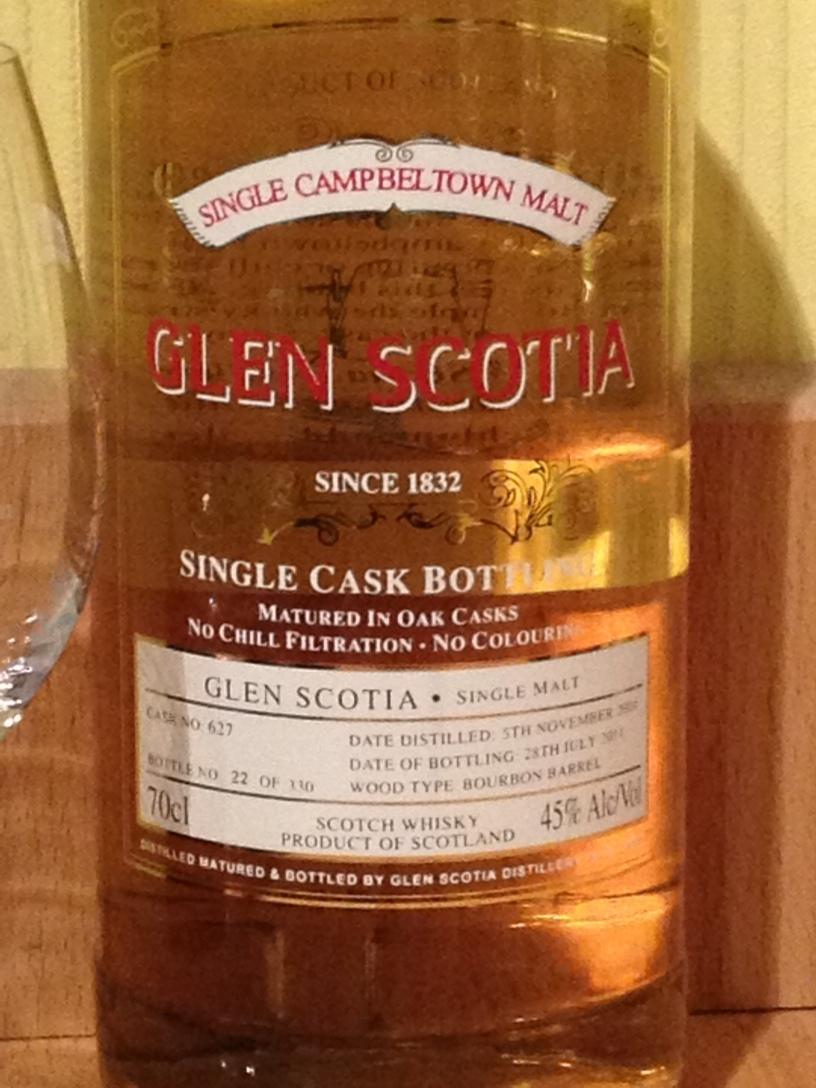 Glen Scotia Select Cask 627