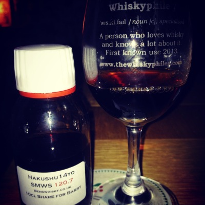 SMWS 120.7 Sweet, fragrant and satisfying
