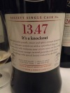 SMWS 13.47 it's a knockout