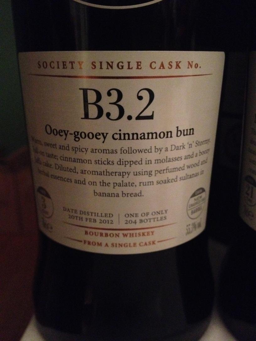 SMWS B3.2 Ooey-gooey Cinnamon Buns