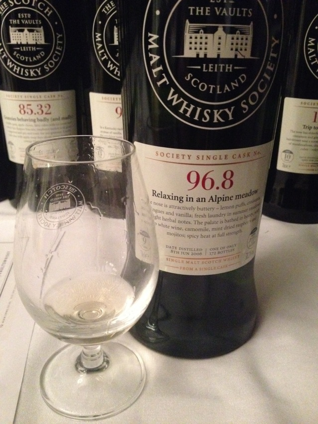 SMWS 96.8 Relaxing in an alpine meadow