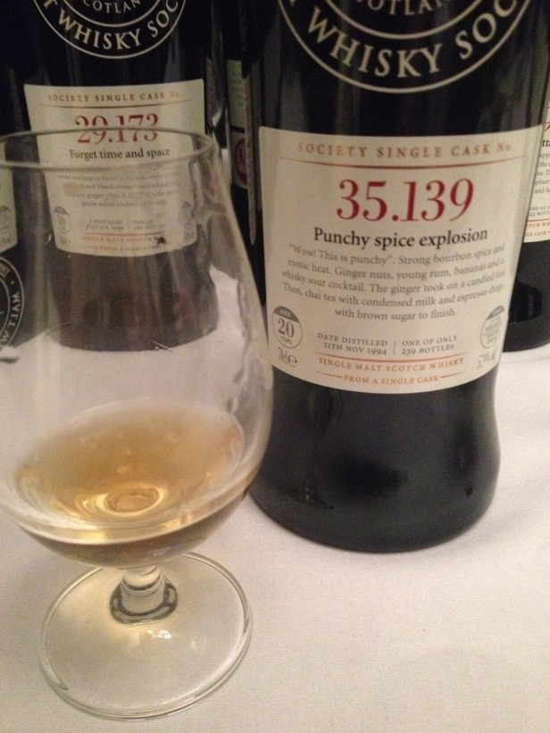 SMWS 35.139 Punchy spice explosion