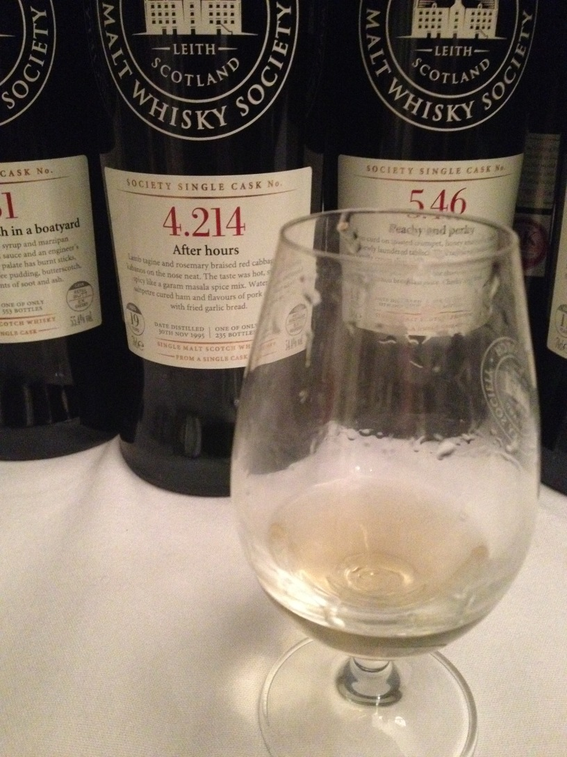 SMWS 4.124 After hours